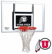 Utah Utes Goalsetter Junior Wall Mount Basketball Hoop