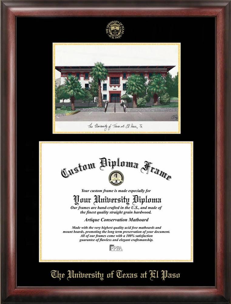 Contemporary Utep Diploma Frames Pattern - Framed Art Ideas ...