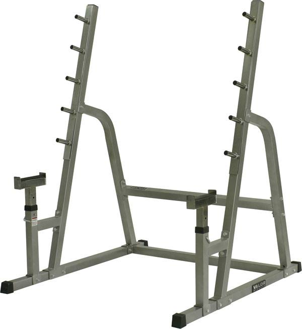 Valor Fitness Bd 4 Safety Squat Bench Combo Rack