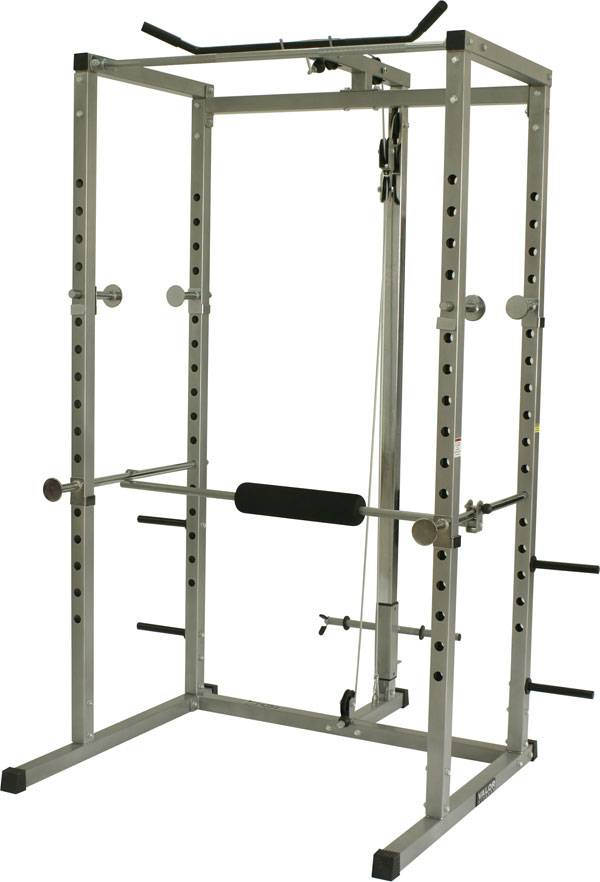 Valor Fitness Bd 7 Power Rack With Lat Pull