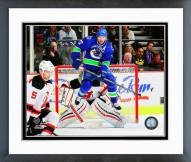 Vancouver Canucks Daniel Sedin 2014-15 Action Framed Photo