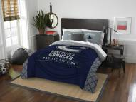 Vancouver Canucks Draft Full/Queen Comforter Set