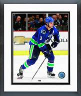 Vancouver Canucks Kevin Bieksa 2014-15 Action Framed Photo