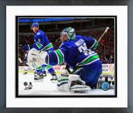 Vancouver Canucks Ryan Miller 2014-15 Action Framed Photo