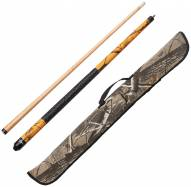 Viper Realtree AP Blaze Orange Camouflage Billiard Cue & Realtree Hardwoods Cue Case Bundle