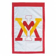 "Virginia Military Institute Keydets 28"" x 44"" Double Sided Applique Flag"