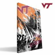 "Virginia Tech Hokies 16"""" x 24"""" Spirit Canvas Print"