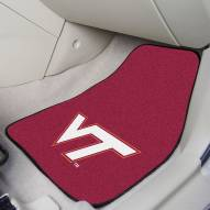 Virginia Tech Hokies 2-Piece Carpet Car Mats