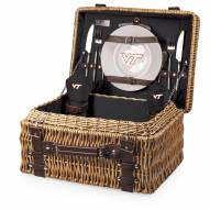 Virginia Tech Hokies Black Champion Picnic Basket