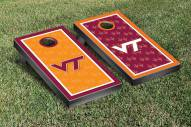 Virginia Tech Hokies Border Wallpaper Cornhole Game Set