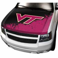 Virginia Tech Hokies Car Hood Cover