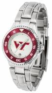 Virginia Tech Hokies Competitor Steel Women's Watch