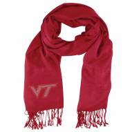 Virginia Tech Hokies Dark Red Pashi Fan Scarf