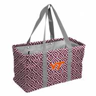 Virginia Tech Hokies Double Diamond Picnic Caddy