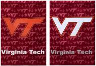 Virginia Tech Hokies Double Sided Glitter Flag