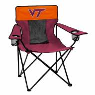 Virginia Tech Hokies Elite Tailgating Chair