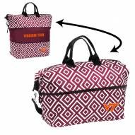 Virginia Tech Hokies Expandable Tote Bag