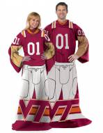 Virginia Tech Hokies Full Body Comfy Throw Blanket
