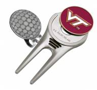 Virginia Tech Hokies Golf Cap Divot Tool
