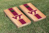 Virginia Tech Hokies Hardcourt Stripe Cornhole Game Set