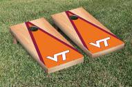 Virginia Tech Hokies Hardcourt Triangle Cornhole Game Set