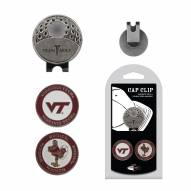 Virginia Tech Hokies Hat Clip & Marker Set