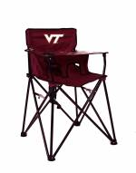 Virginia Tech Hokies High Chair