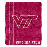 Virginia Tech Hokies Jersey Sherpa Blanket