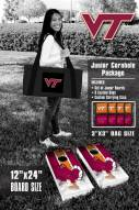 Virginia Tech Hokies Junior Cornhole Game Set