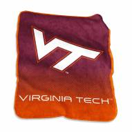 Virginia Tech Hokies Raschel Throw Blanket