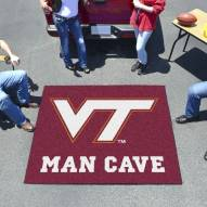 Virginia Tech Hokies Man Cave Tailgate Mat