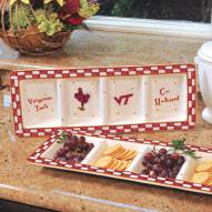 Virginia Tech Hokies NCAA Ceramic Relish Tray