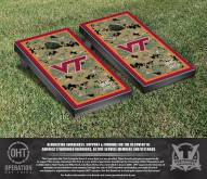 Virginia Tech Hokies Operation Hat Trick Border Cornhole Game Set