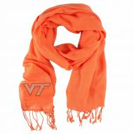Virginia Tech Hokies Orange Pashi Fan Scarf