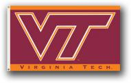 Virginia Tech Hokies NCAA Premium 3' x 5' Flag