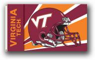 Virginia Tech Hokies Premium Helmet 3' x 5' Flag
