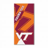 Virginia Tech Hokies Puzzle Beach Towel