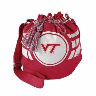 Virginia Tech Hokies Ripple Drawstring Bucket Bag