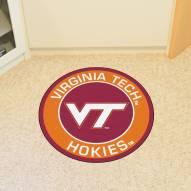 Virginia Tech Hokies Rounded Mat