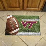 Virginia Tech Hokies Scraper Door Mat