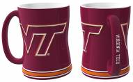 Virginia Tech Hokies Sculpted Relief Coffee Mug