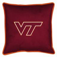 Virginia Tech Hokies Sidelines Pillow