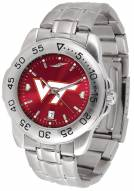 Virginia Tech Hokies Sport Steel AnoChrome Men's Watch
