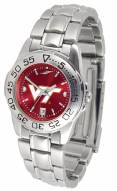 Virginia Tech Hokies Sport Steel AnoChrome Women's Watch