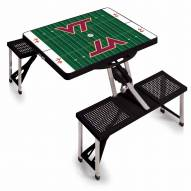 Virginia Tech Hokies Sports Folding Picnic Table
