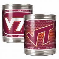Virginia Tech Hokies Stainless Steel Hi-Def Coozie Set