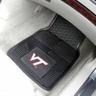 Virginia Tech Hokies Vinyl 2-Piece Car Floor Mats