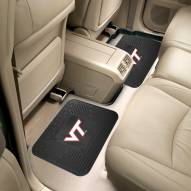 Virginia Tech Hokies Vinyl 2-Piece Rear Floor Mats