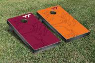 Virginia Tech Hokies Watermark Cornhole Game Set