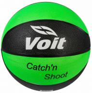 Voit Catch and Shoot Rubber Basketball - Glow in the Dark